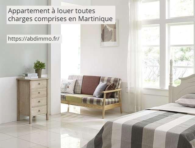 appartement à louer charges comprises Martinique