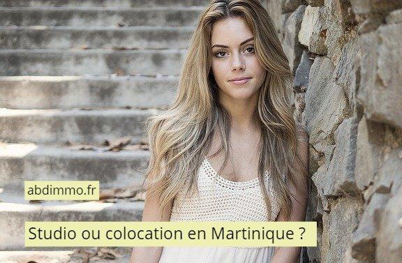 studio ou colocation en Martinique