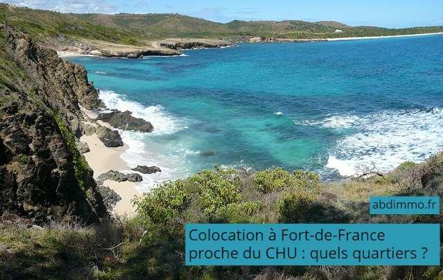 colocation à Fort-de-France proche du CHU