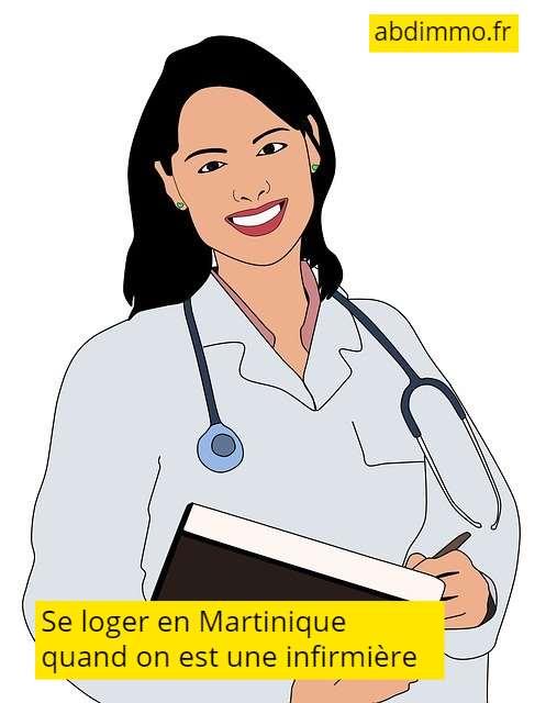 se loger en Martinique infirmière