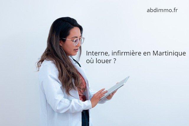 interne infirmière en Martinique où louer