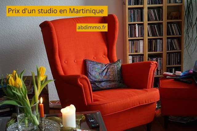 prix d'un studio Martinique